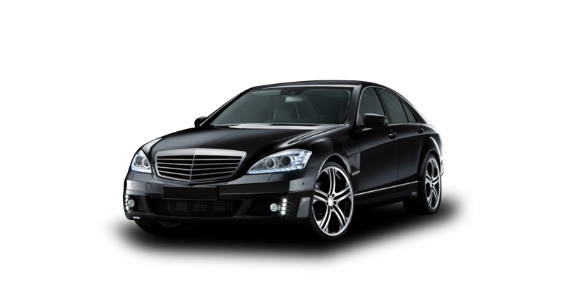 Mercedes S Class up to 3 passengers
