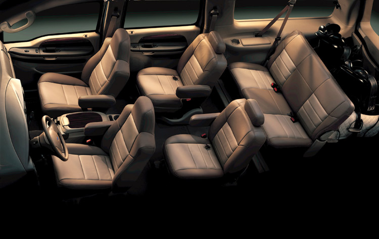 Chicago Limo Service - Chevrolet Suburbans up to 6 passengers - interior