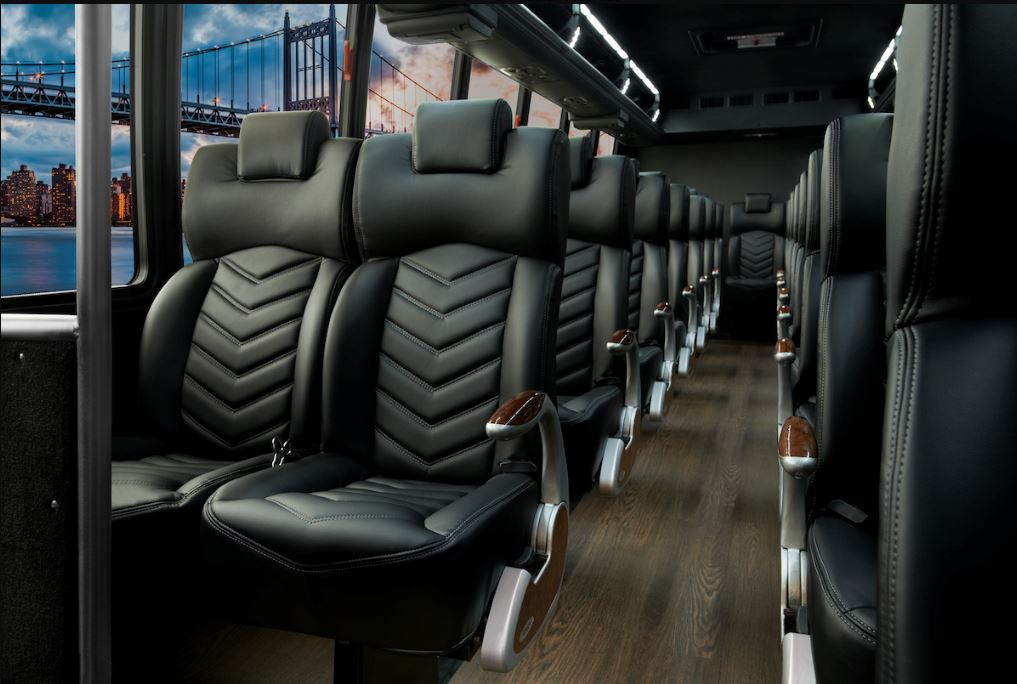 Chicago Limo Service - 38 - 40 Passenger Luxury Coach - interior