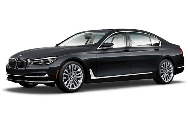 BMW 7 Series up to 3 passengers