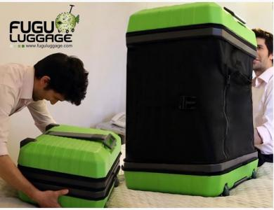 The FUGU Luggage Line Can Help You Travel More Efficiently