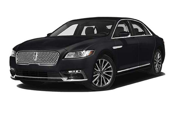 Lincoln Continental up to 3 passengers