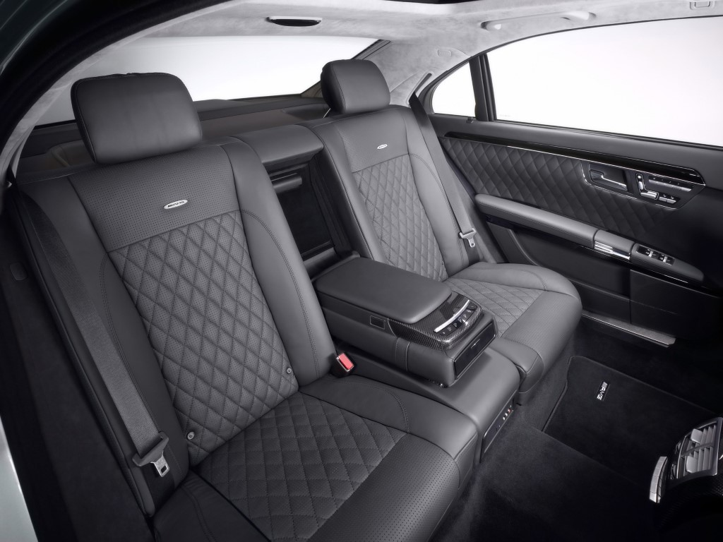Chicago Limo Service - Mercedes S Class up to 3 passengers - interior