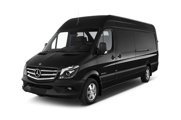 Mercedes Sprinter Van up to 11 passengers