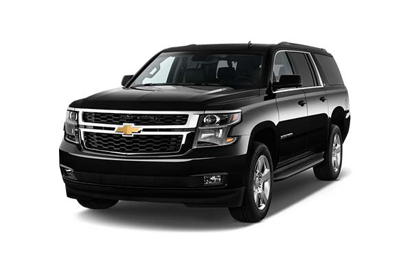 Chevrolet Suburbans up to 6 passengers