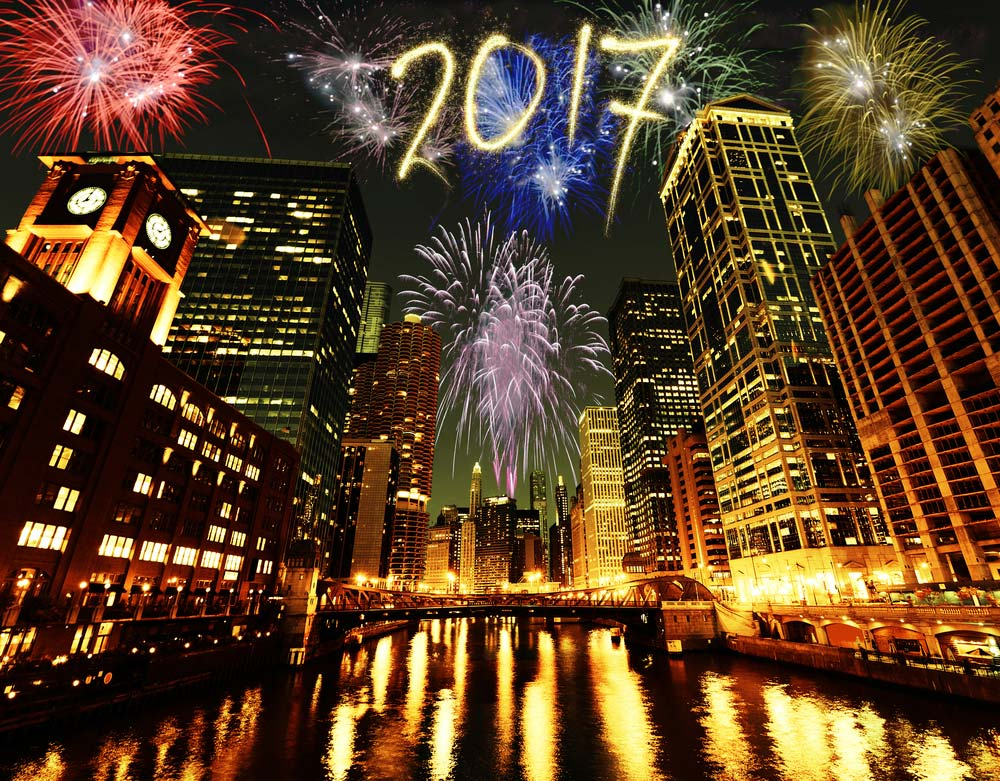 Where to Watch New Year's Eve Fireworks in Chicago for 2016/2017